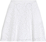 MSGM Macramé lace mini skirt