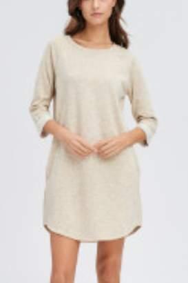 Lyn Maree's French Terry Raglan T-Shirt Dress