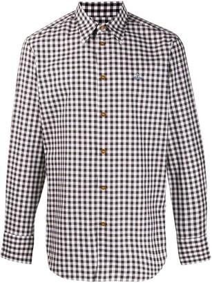 Vivienne Westwood Plaid Button Shirt