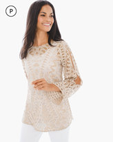 Chico's Artisan Lace Pullover