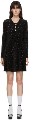 Marc Jacobs Black Velour The Paris Dress