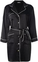 P.A.R.O.S.H. belted shirt dress - women - Silk - M