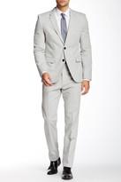 HUGO BOSS Aret Hetohm Two Button Lapel Trim Fit Suit