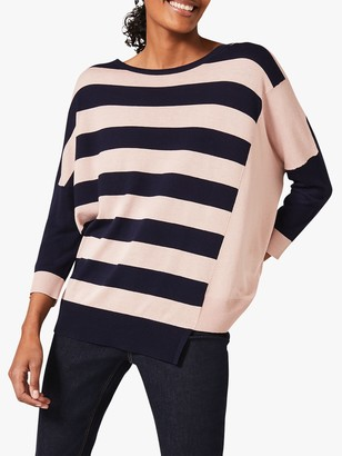 Phase Eight Farla Striped Knit Top