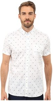 Ted Baker Mydance Short Sleeve Floral Spot Print Shirt
