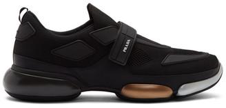 Prada Black Metallic Cloudburst Sneakers