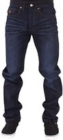 Rocawear Mens Boys Double R Star Relaxed Fit Hip Hop Jeans Is Money G Time DKBlu (W34 - L34, )