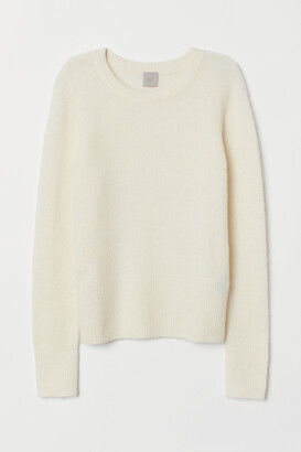 H&M Fine-knit Wool-blend Sweater