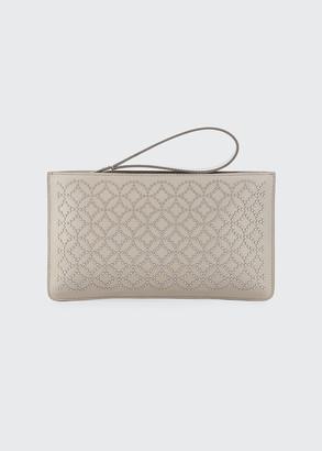 Alaia Arabesque Studded Zip-Top Pouch