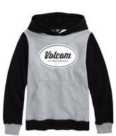 Volcom Boy's Patch Stone Hoodie