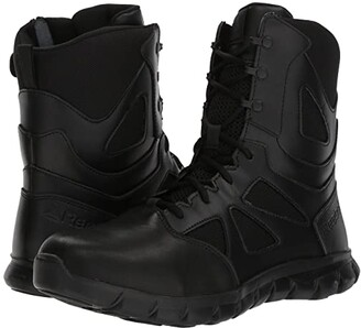 Reebok Work Sublite Cushion Tactical 8 Boot (Black) Men's Boots