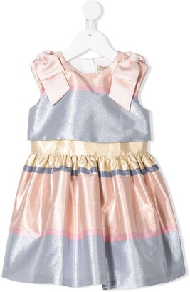 Hucklebones London Tiered Bodice Dress