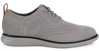 Cole Haan Grand Evolution Wingtip Knit Sneakers