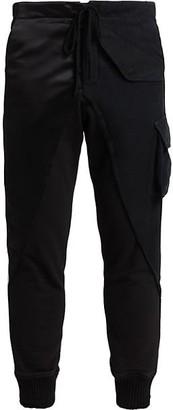 Greg Lauren Baker Satin Lounge Pants