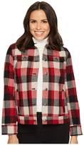 Pendleton Timber Plaid Wool Jacket Women's Coat