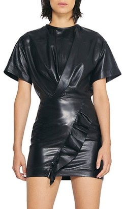 IRO Janar Leather Dress
