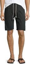 Sol Angeles Twill Drawstring Cutoff Shorts