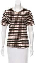 Tory Burch Short Sleeve Polka Dot T-Shirt