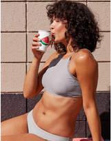 aerie Crop Lace Trim Bikini Top