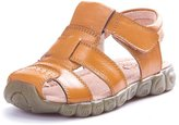 PPXID Boy's Girl's Leather Closed Toe Casual Sandals Beach Sandals- 35CN