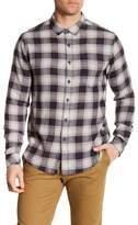 Billabong Fremont Front Button Plaid Flannel Shirt