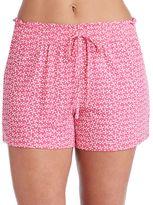 Jockey Women's Pajamas: Floral Boxer Shorts