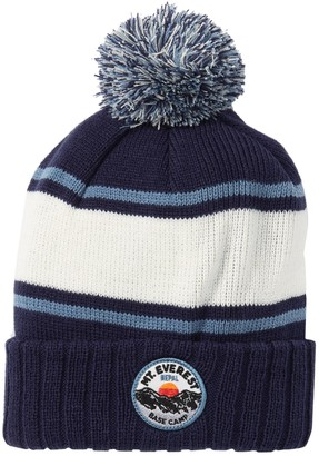 American Needle Pillow Line Mt. Everest Pompom Knit Beanie