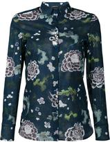 ADAM by Adam Lippes sheer floral print shirt - women - Cotton - 2
