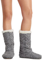 Aeropostale Womens Cape Juby Slouchy Cuff Slipper Boot