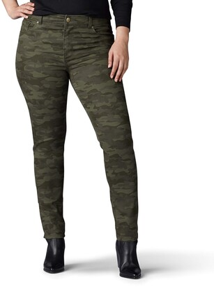 Lee Women's Plus-Size Sculpting Slim Fit Skinny Leg Jean