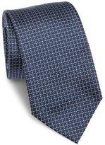 Armani Collezioni Dot Printed Silk Tie