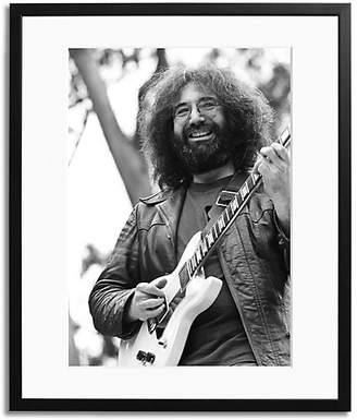 Sonic Editions Jerry Garcia Of The Grate Framed Photo