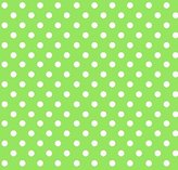 BABYBJÖRN SheetWorld Fitted Sheet (Fits Travel Crib Light) - Primary Polka Dots Green Woven - Made In USA - 24 inches x 42 inches (61 cm x 106.7 cm)