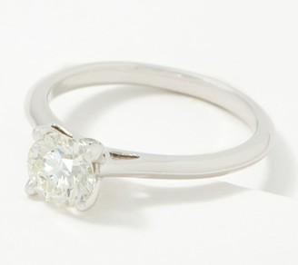 Fire Light Lab Grown Diamond 14K Gold Solitaire Ring, 1.00cttw