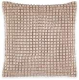 Catherine Malandrino Metro Blanca Square Throw Pillow in Ivory