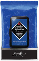 Jack Black All Over Wipes for Face and Body, 30 Count