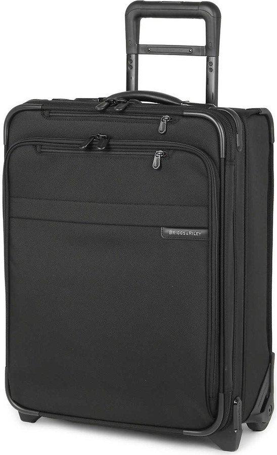 Thumbnail for your product : Briggs & Riley Black Baseline International Carry-On Expandable Upright Suitcase, Size: 51cm