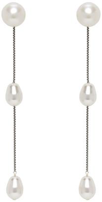 Sophie Buhai White Small Pearl Earrings