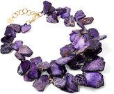 Nest Purple Chunky Necklace