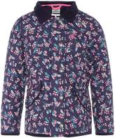 Joules Girls Ditsy Floral Print Quilted Coat