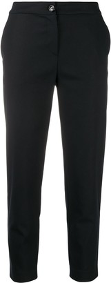 Love Moschino Logo Patch Detail Trousers