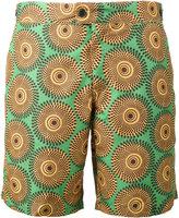 Okun - Patrice circle print swim shorts - men - Polyester - XS