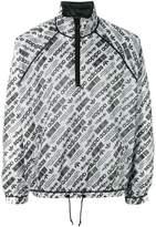 Adidas Originals By Alexander Wang logo print windbreaker