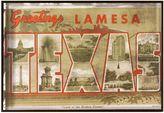 Bed Bath & Beyond Texas Greetings Postcard on Box Wall Art