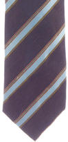 Kiton Striped Silk Tie