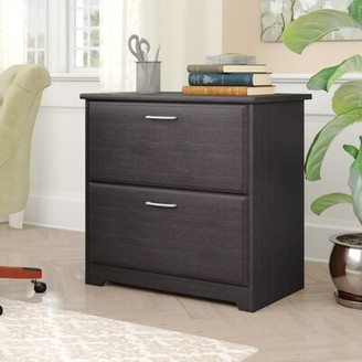 Hillsdale 2-Drawer Lateral Filing Cabinet Red Barrel Studio Color: Espresso Oak