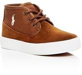 Ralph Lauren Boys' Waylon Mid Top Sneakers - Toddler