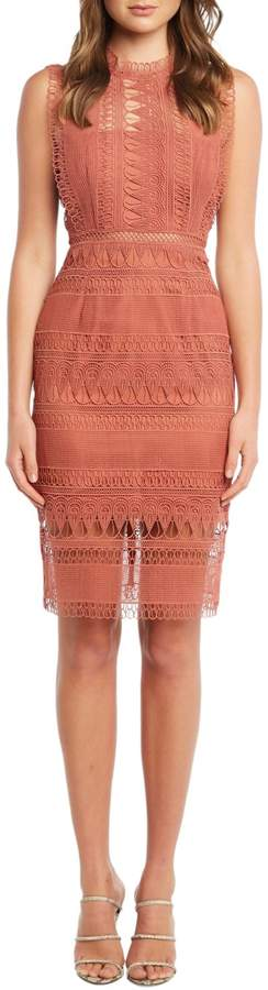Bardot Mariana Lace Sheath Dress