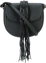 Altuzarra Ghianda saddle crossbody bag - women - Linen/Flax/Leather - One Size