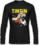 Tintin Shop562 Boys' Long Sleeve Brand New Tintin T Shirt Good Casual Funniest